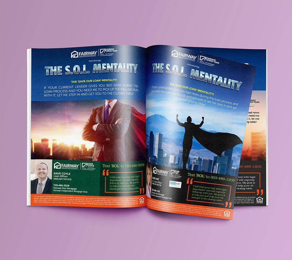 Fairway Full Page Ad Magazine